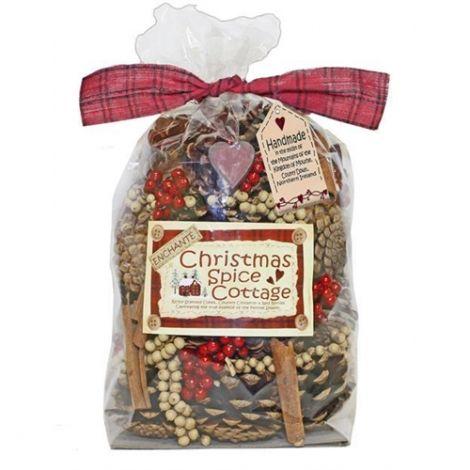 Enchante Petals & Pods Large Bag - Christmas Spice Cottage