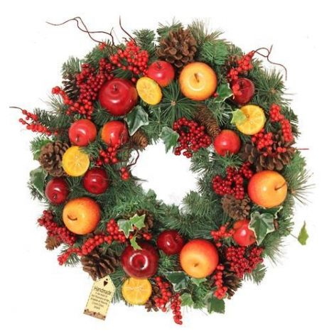 Enchante Orchard Christmas Wreath - 60cm