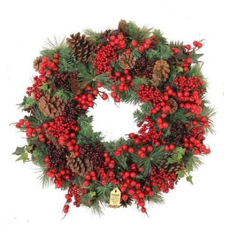 Enchante Woodland Berry Large Wreath 60cm