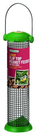 Gardman Large Flip Top Peanut Feeder