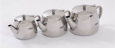 Tudere Stainless Steel Teaware Induction Ready Teapot