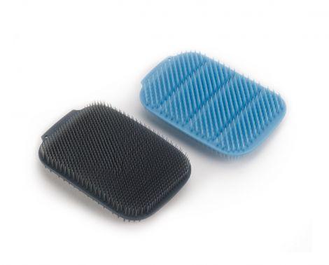 Jospeh Joseph CleanTech™ Washing-up Scrubbers 2Pk Blue/Grey