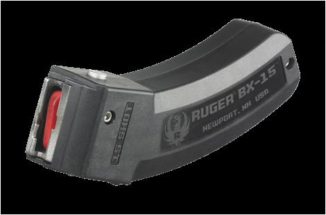 Ruger BX-15 15 Round Magazine