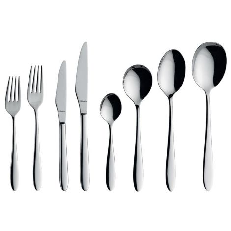 Amefa Anise 18/10 Stainless Steel Cutlery Collection - Singles