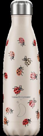 Chilly's Hot/Cold Water Bottle 500ml Emma Bridgewater Ladybird