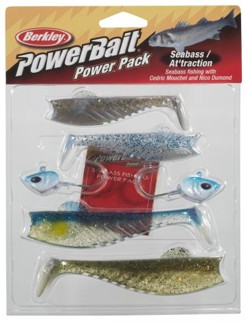 Berkley Powerbait PowerPack Seabass Attraction