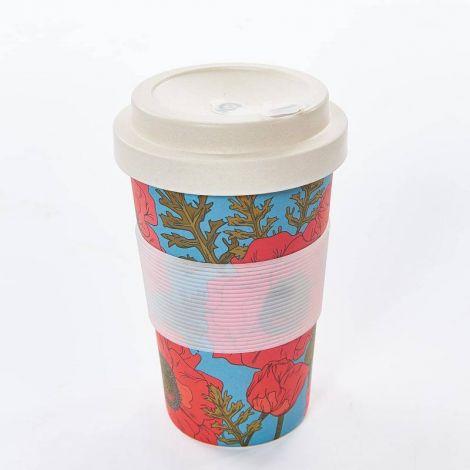 Eco Chic Poppies Coffee Mug