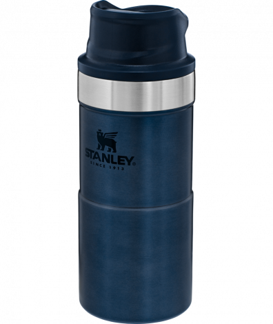 Stanley Trigger Action Travel Mug 12oz/.35Ltr Blue