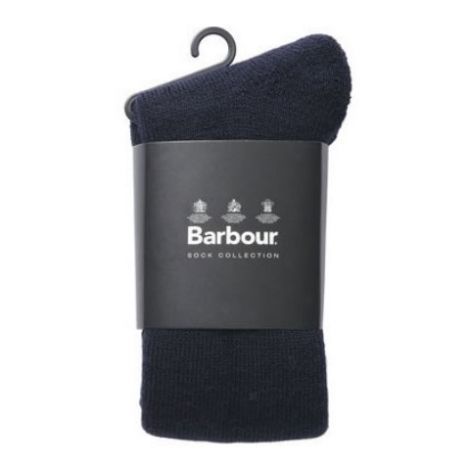 Barbour Calf Length Wool Wellington Socks