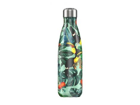 Chilly's Hot/Cold Water Bottle 500ml - Tropical Toucan