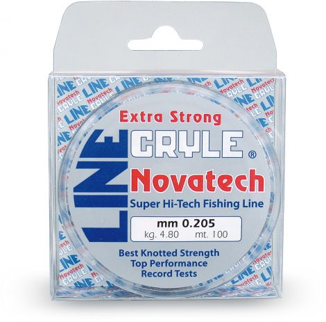 Novatech Cryle Line 0.20mm 4.8kg/10.6lb 100m