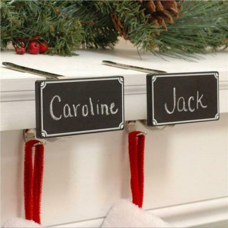 The Original MantleClip with Removable Chalkboards