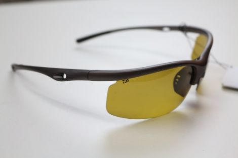 Daiwa Polarised Sunglasses: DTPSG8 - Amber Lens
