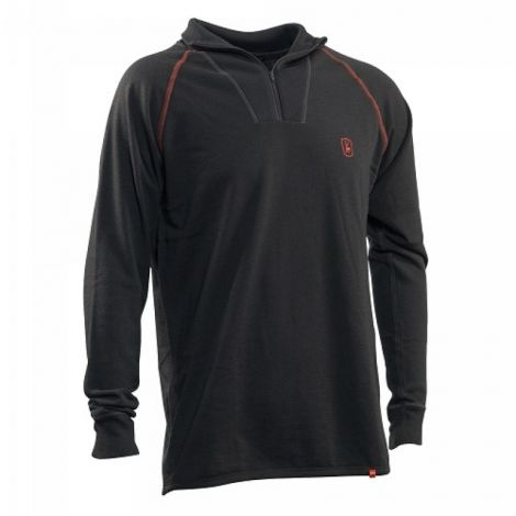 Deerhunter Merion Wool Jersey Zip-Neck