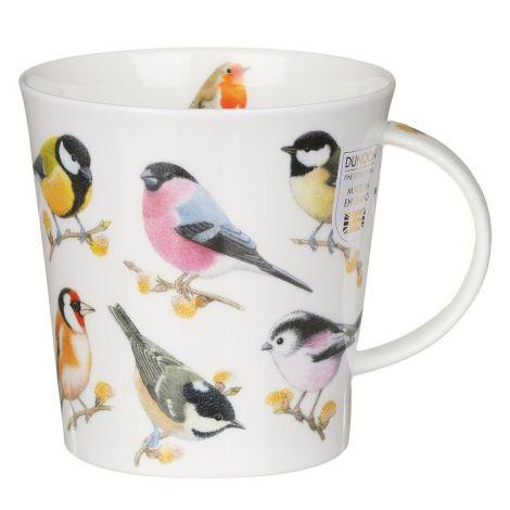 Dunoon Cairngorm Fine Bone China Mug - Song Bird Willow