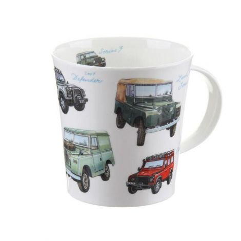 Dunoon Cairngorm Fine Bone China Mug - Classic Collection Land Rover