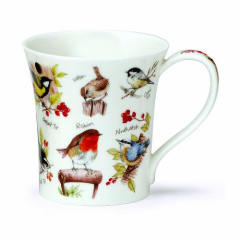 Dunoon Jura Birdlife China Mug - Robin