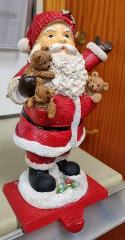 Enchante Santa Christmas Stocking Holder
