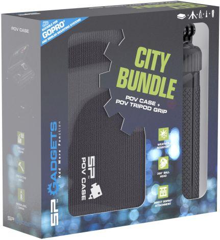 SP City Bundle - POV Case DLX and POV Tripod Grip for action cameras