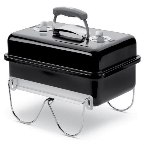 Weber® Go-Anywhere Charcoal Barbecue Black
