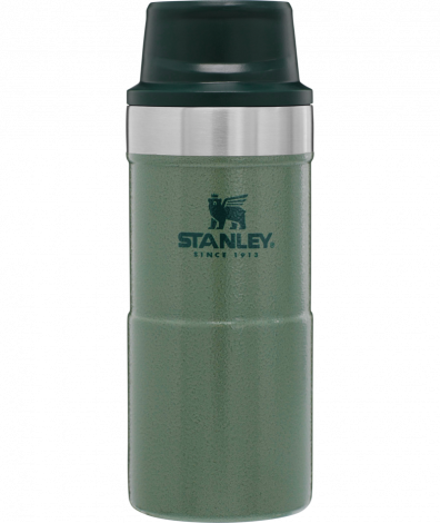 Stanley Trigger Action Travel Mug 12oz/.35Ltr Green
