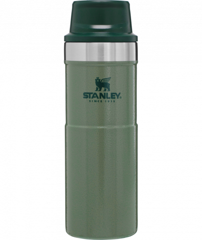 Stanley Trigger Action Travel Mug 16oz/.47Ltr Green