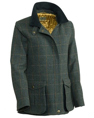 Hoggs of Fife Sherborne Ladies Lambswool Field Coat
