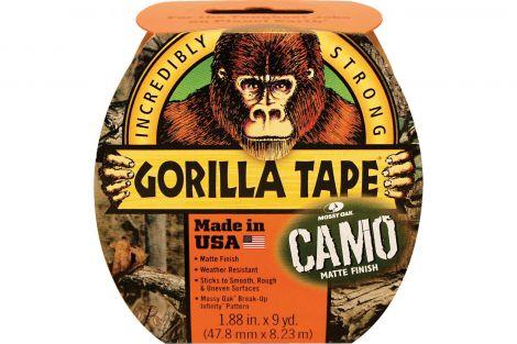 Gorilla Camo Tape 8.2m x 48mm Roll