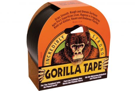 Gorilla Black Tape 11m x 48mm