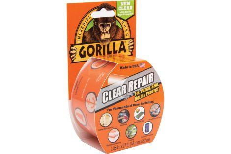 Gorilla Clear Repair Tape 8.2m x 48mm