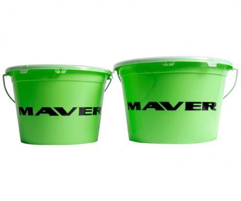 Maver  Groundbait Bucket with Lid