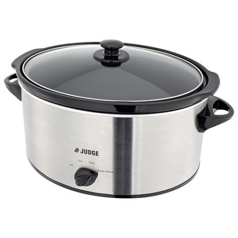 Judge 5.5L Litre Slow Cooker