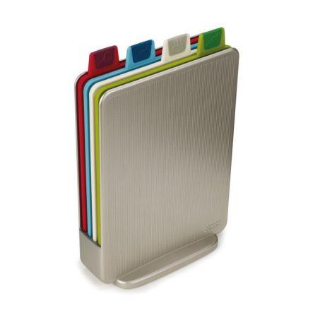 Joseph Joseph Index™ Mini Colour-coded Chopping Boards with Storage Case