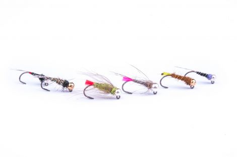 Flash Attack Craig's Grayling Jig Flies Pack of 6