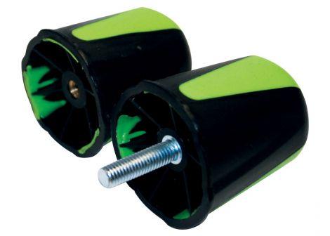 Maver Male Handwheel (Black / Green)