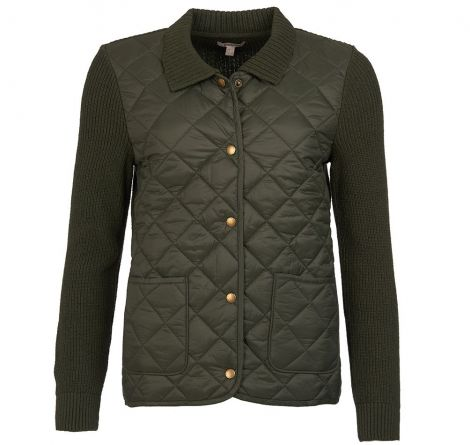 Barbour Moors Knit Sweater - Olive