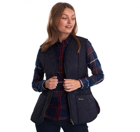 Barbour Fleece Betty Liner - Navy