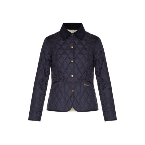 Barbour Summer Liddesdale Quilted Jacket - Navy/Pearl
