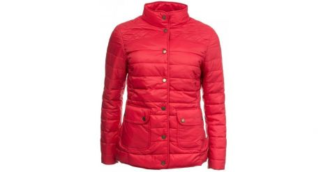 Barbour Coledale Quilted Jacket - Pomegranate