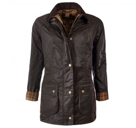 Barbour Ladies Beadnell Wax Jacket Rustic