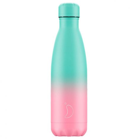 Chilly's Hot/Cold Water Bottle 500ml - Gradient Pastel