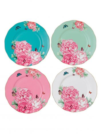 Royal Albert Miranda Kerr Friendship 20cm Plate 4Pc