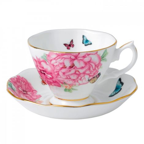Royal Albert Miranda Kerr Friendship Tea Cup & Saucer 2Pcs