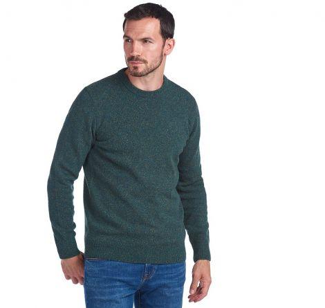 Barbour Tisbury Sweater - Dark Aqua