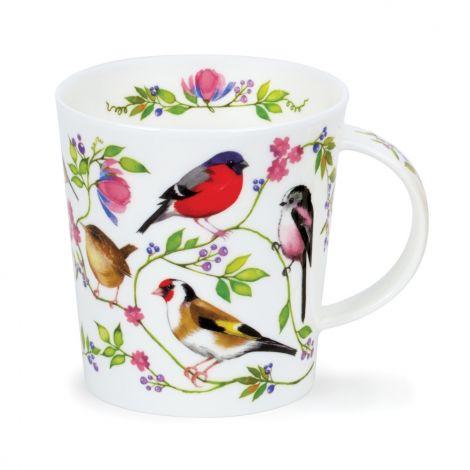 Dunoon Lomond Morning Chorus China Mug - Goldfinch
