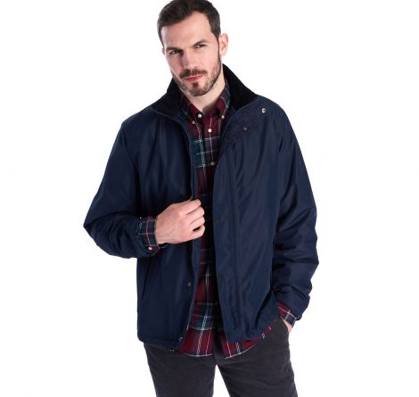 Barbour Borrowdale Waterproof Breathable Jacket - Navy