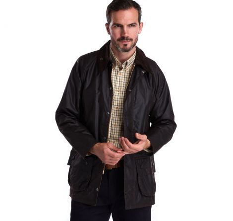 Barbour Bedale Waxed Cotton Jacket - Rustic - 32