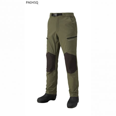 Shimano Windproof Stretch Pants - Khaki