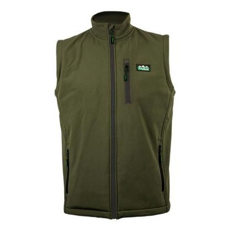 Ridgeline Talon Softshell Vest Moss