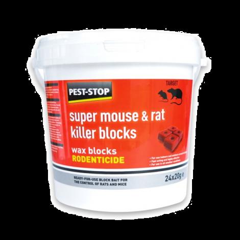 Pest-Stop Sure-Set Plastic Mouse Trap (Twin Pack)